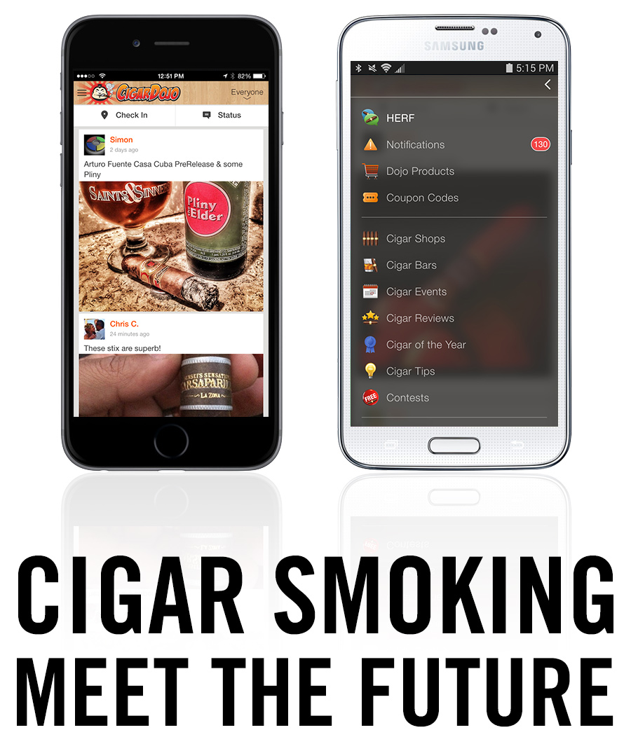 World's best cigar app