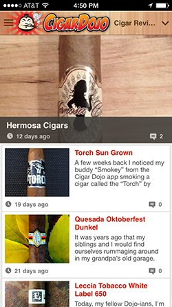 Cigar app reviews